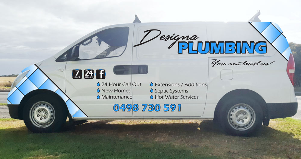 Designa Plumbing - we are available any time you need us!